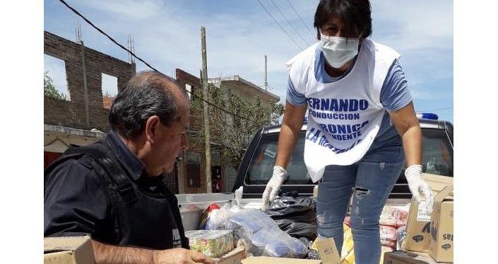 Preparación y entrega de alimentos y bebidas en los barrios