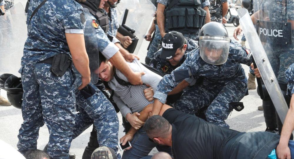 Protestas en Líbano