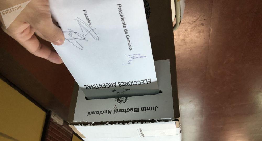 Jornada electoral en Argentina