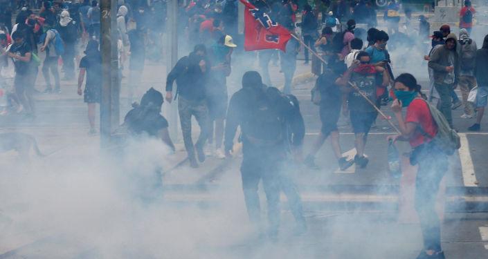 La situación en Chile