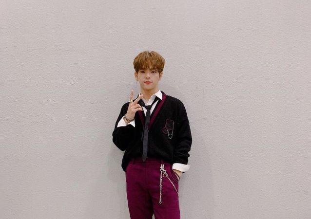 Woojin, el integrante de la banda musical Stray Kids
