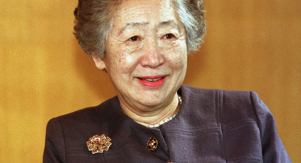 Sadako Ogata, la primera mujer alta comisionada de ACNUR