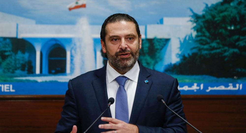 Saad Hariri, primer ministro del Líbano