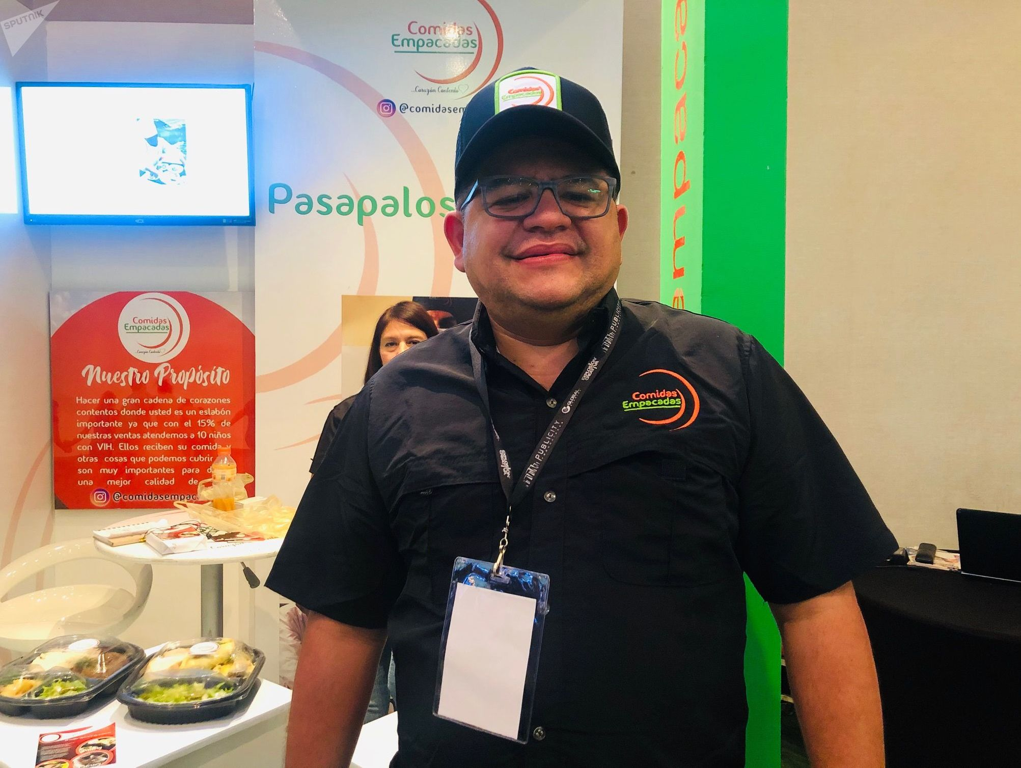 Ricardo Pérez, emprendedor venezolano y fundador de 'Comidas Empacadas'