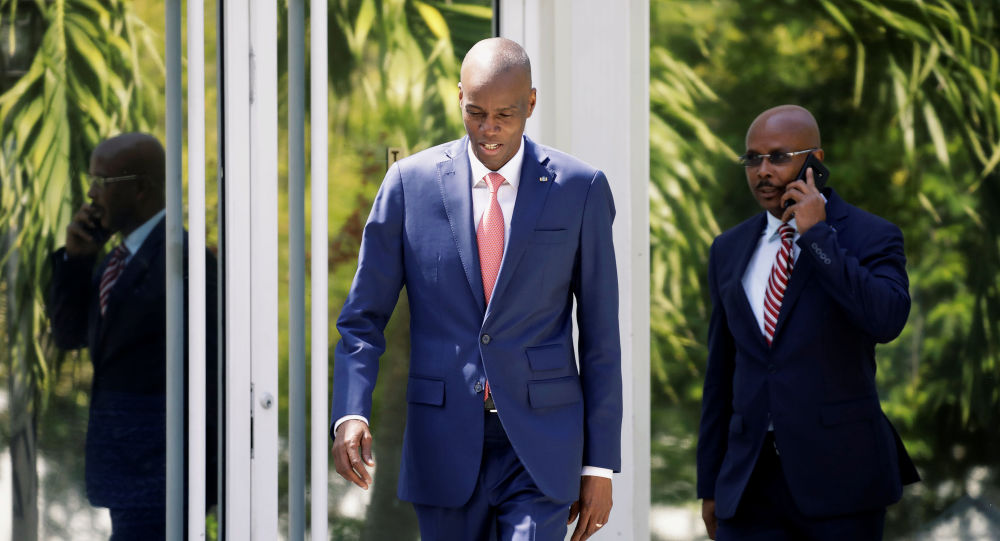 Jovenel Moise, presidente de Haití