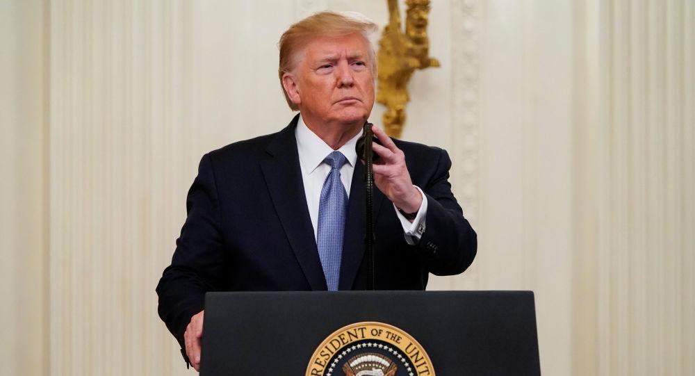 Donald Trump, el presidente de EEUU
