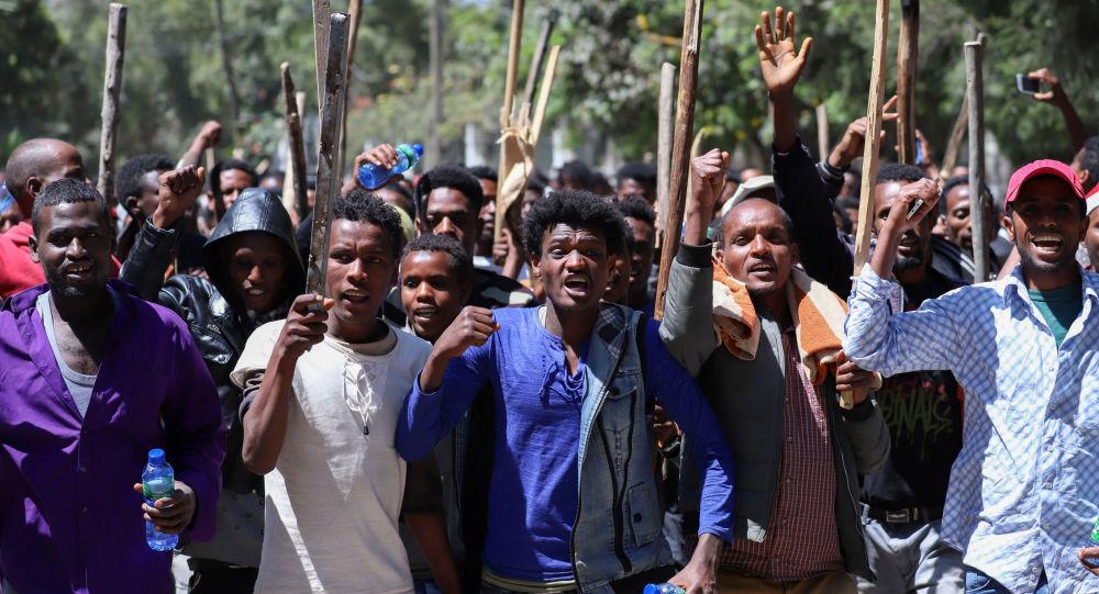 Las protestas en Etiopía