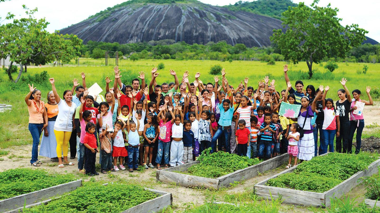 Los mapoyo son un grupo indígena de filiación lingüística Caribe, de aproximadamente 400 personas