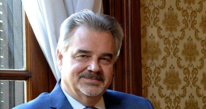 Embajador de Rusia en Uruguay, Nikolay V. Sofinskiy