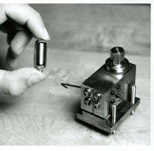 Un reloj atómico (imagen referencial)