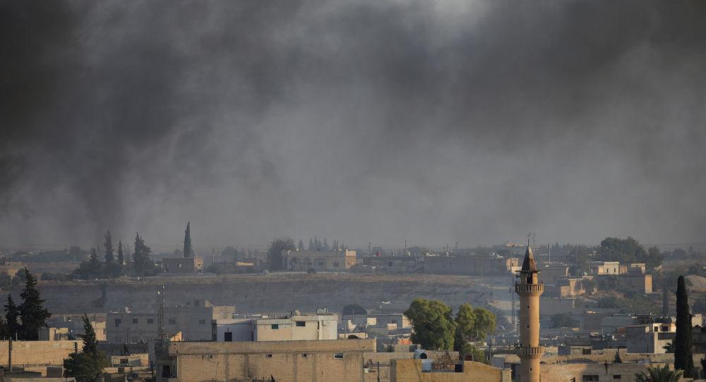 La situación en la ciudad siria de Tel Abiad (archivo)