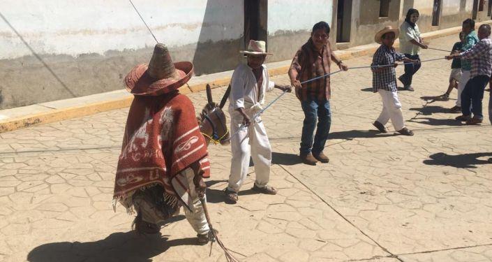 Celebración del Día de los Muertos en el pueblo ñomda'a de Guerrero
