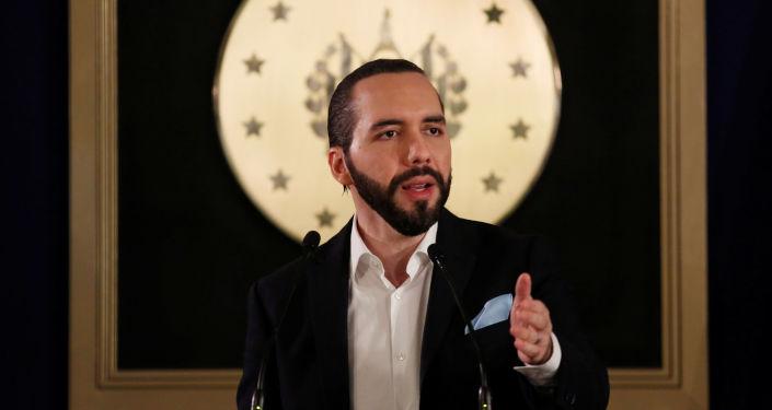 Nayib Bukele, el presidente de El Salvador
