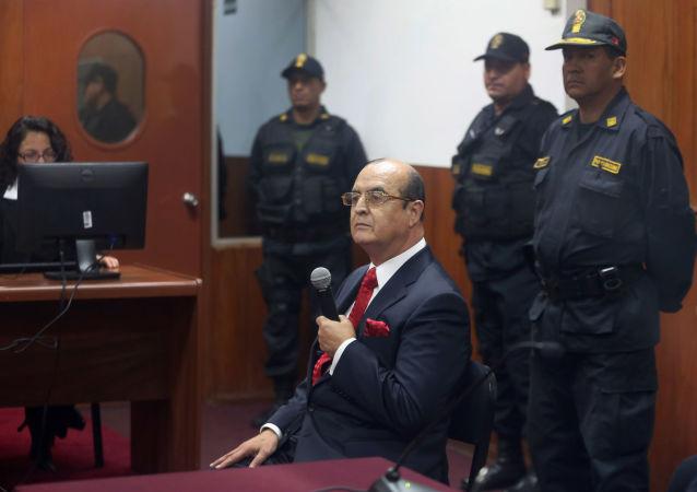 Vladimiro Montesinos, exasesor del expresidente peruano Alberto Fujimori