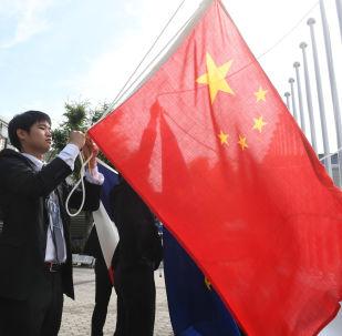 Bandera de China (imagen referencial)