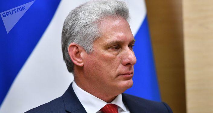 Miguel Díaz-Canel, presidente de Cuba