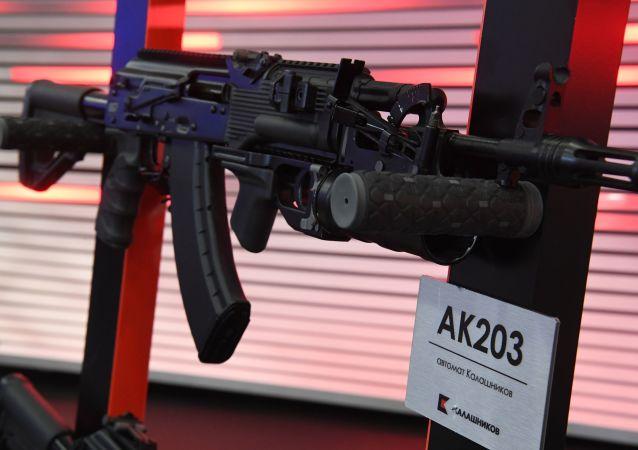 Fusil Kalashnikov AK-203