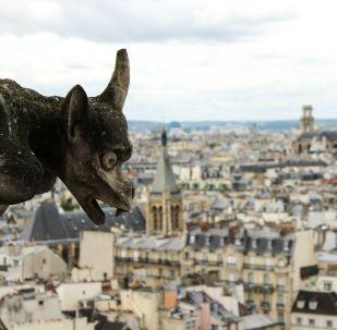 Una vista de París