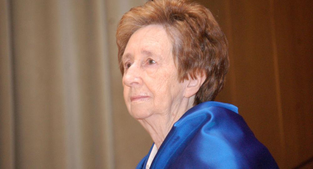 La bioquímica española Margarita Salas