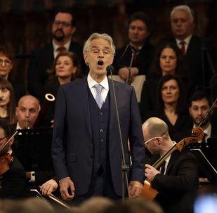 Andrea Bocelli, tenor italiano