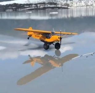 Vuelo salvaje en Alaska