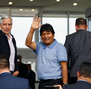 Evo Morales se asila en México