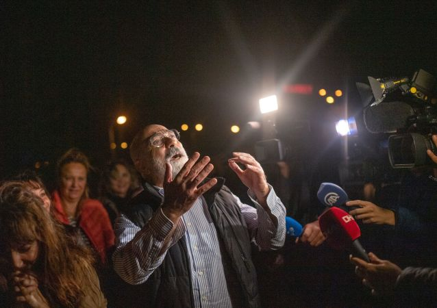Ahmet Altan, periodista opositor turco