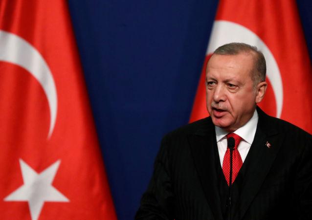Recep Tayyip Erdogan, el presidente de Turquía