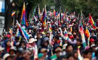 Las protestas en Bolivia