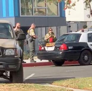Lugar del tiroteo en California