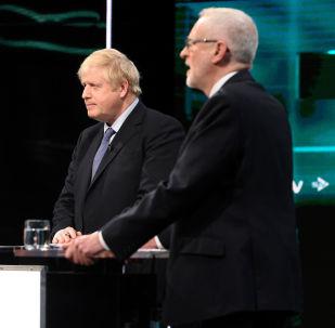 El debate electoral entre Boris Johnson y Jeremy Corbyn