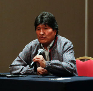 Evo Morales, expresidente de Bolivia