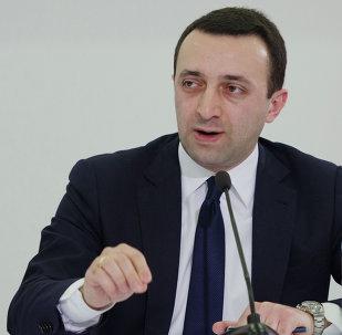 Irakli Garibashvili, primer ministro de Georgia