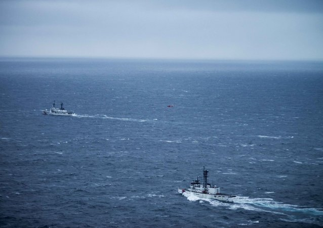 Coast Guard search for missing crewmembers near Chukotka, Russia