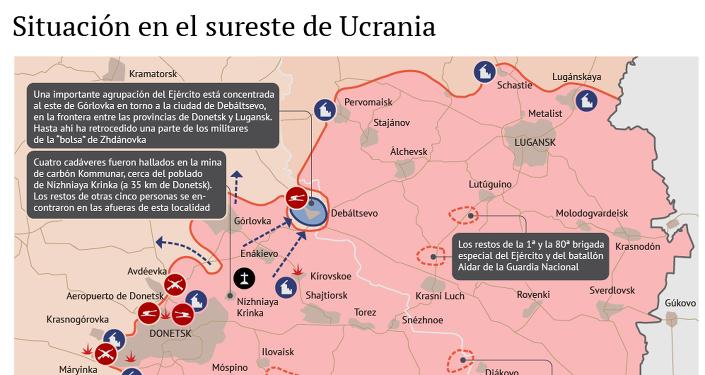 La situación en Donbás tras la firma de la tregua