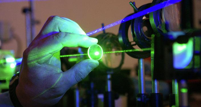 Laboratorio de medición laser (archivo)