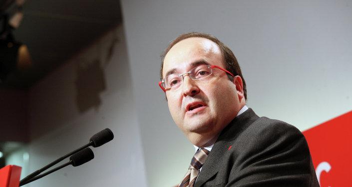 Мигель Исэта, лидер каталонских социалистов, 2009 год