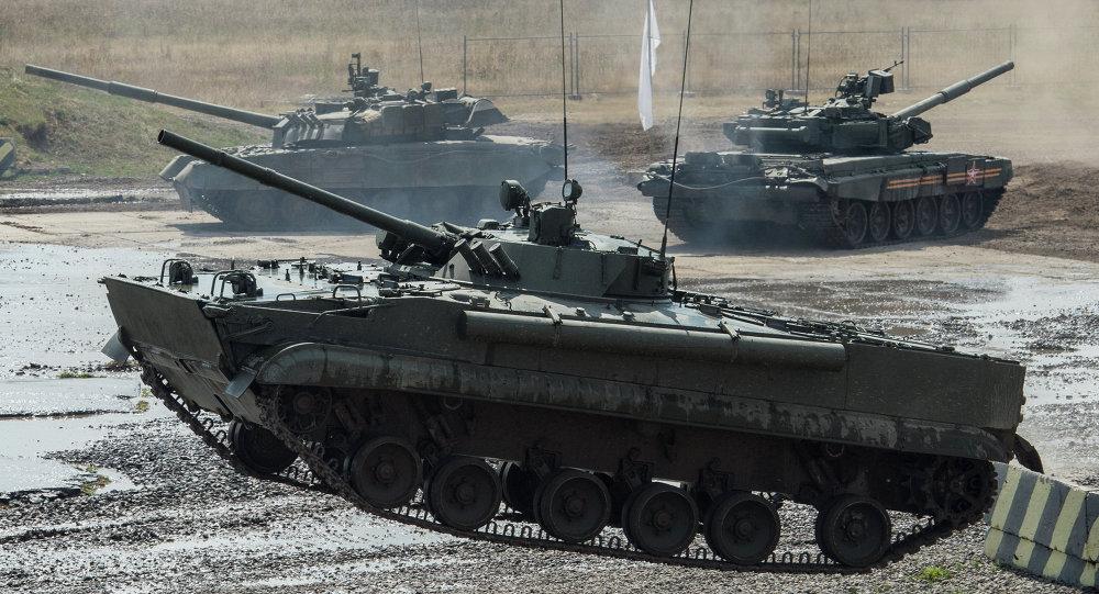 Se puede colocar en el BMP-3 el sistema de misiles antitanque Vijr