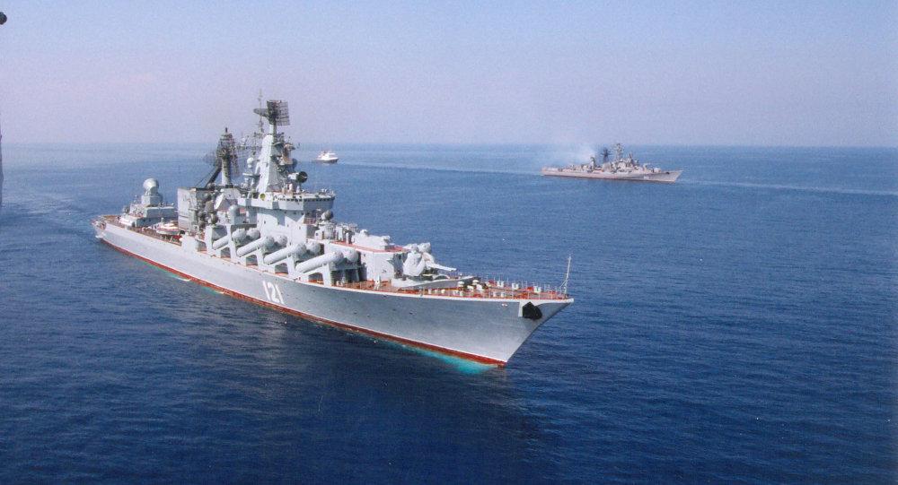 Гвардейский ракетный крейсер Москва