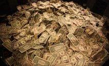 Dólares estadounidenses (ilustración)