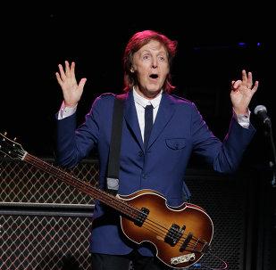 Paul McCartney, cantautor británico (archivo)