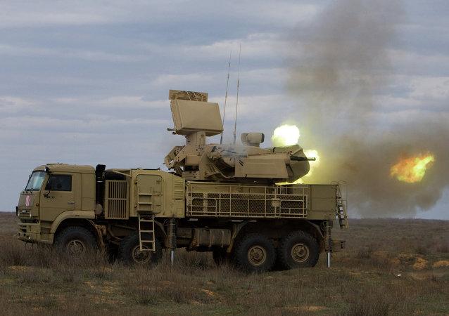 Pantsir-S1, sistema de defensa antiaérea ruso