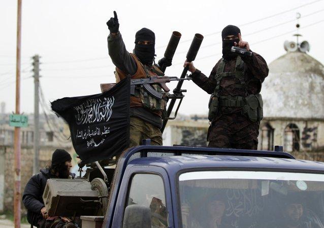Extremistas del grupo Al Qaeda