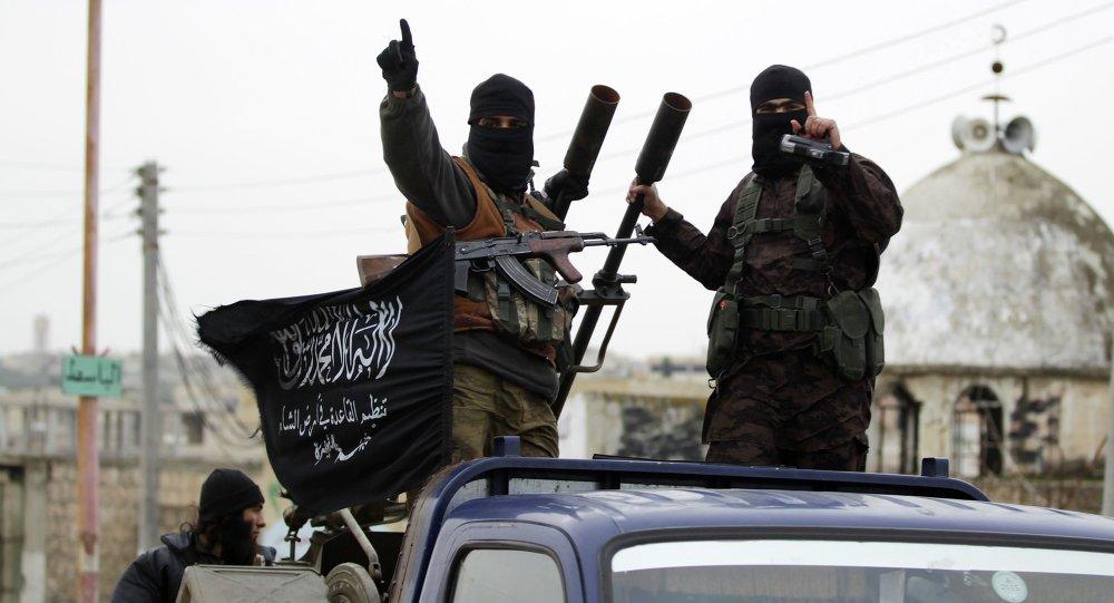 Extremistas del grupo Frente al Nusra