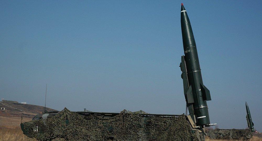 El módulo de misiles Tochka