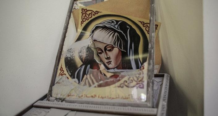 Боевые действия в христианском городе Маалюла