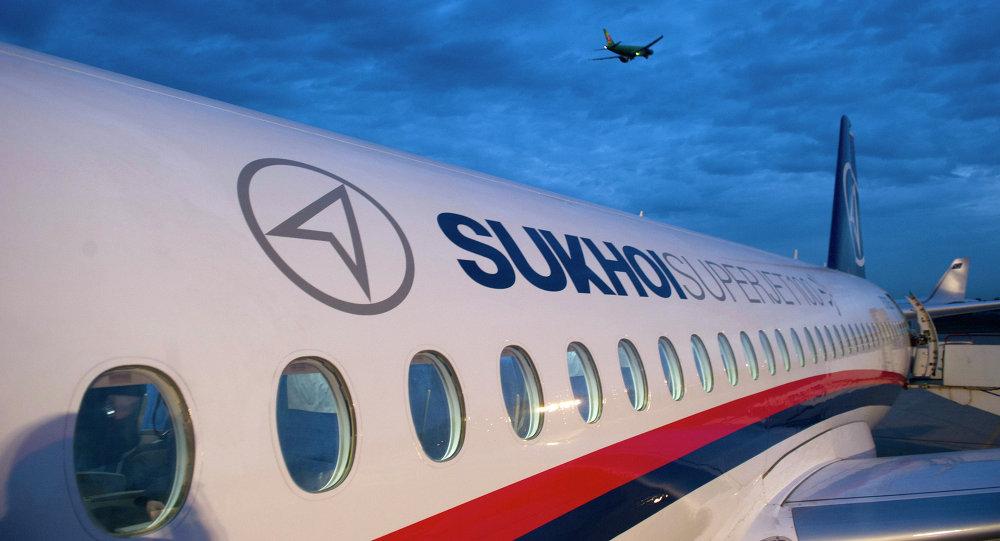 Самолет Superjet 100. Архивное фото