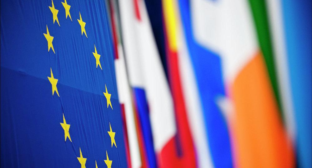 Banderas de los países miembros de la UE