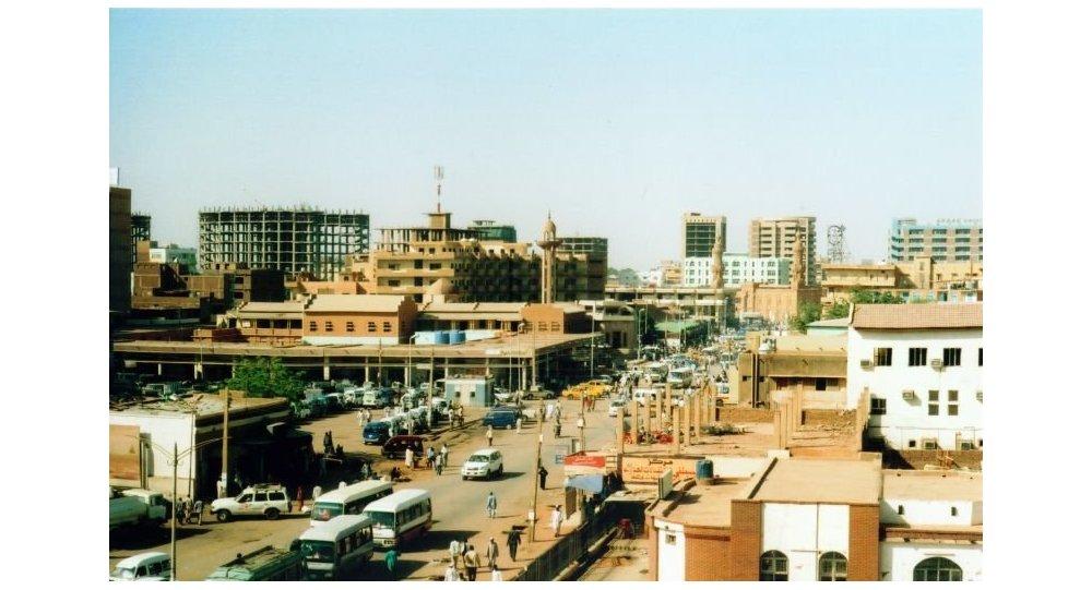 Jartum. la capital de Sudán