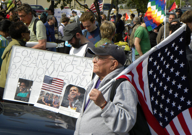 Митинги против депортации в Америке